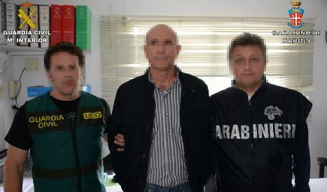 Mafia boss arrested in Costa del Sol post office