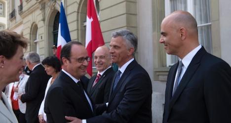 Tax evasion dispute is 'behind us': Hollande