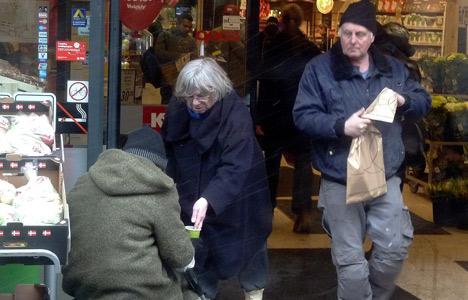 Parties target 'organized' beggars in Copenhagen