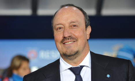 Napoli lining up Benitez successor: reports