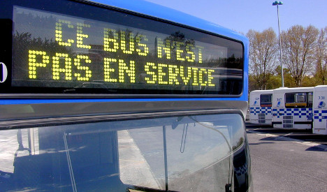 Outrage in France over 'Roma-only' bus service