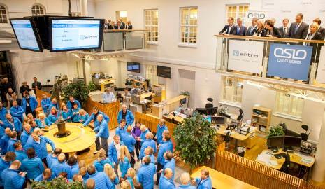 Oslo bourse hits record high