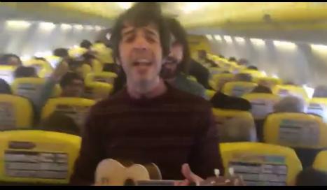 Rockers pen 'We don't love Ryanair' ballad