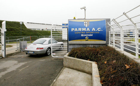 Cash-strapped Parma docked four more points