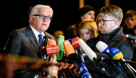 'Grave concern' about Ukraine in Berlin talks