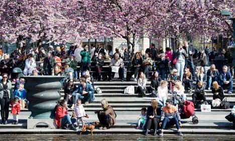 Sweden Easter forecast: sunshine and showers