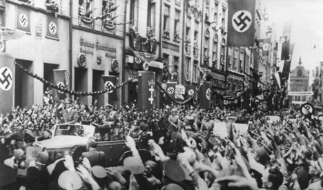 Teacher faces police questions over Nazi song