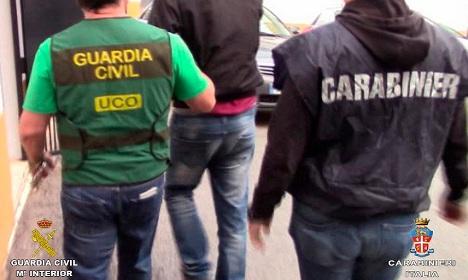 Italian mobster lived as fugitive on Costa del Sol