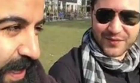 Swedish Syrian warms hearts over phone return