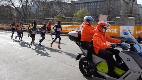Vienna marathon underway in perfect conditions