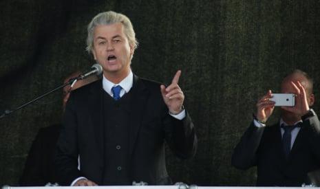 Wilders' Pegida speech is turnout flop