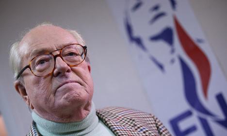 Heart trouble puts Jean-Marie Le Pen in hospital