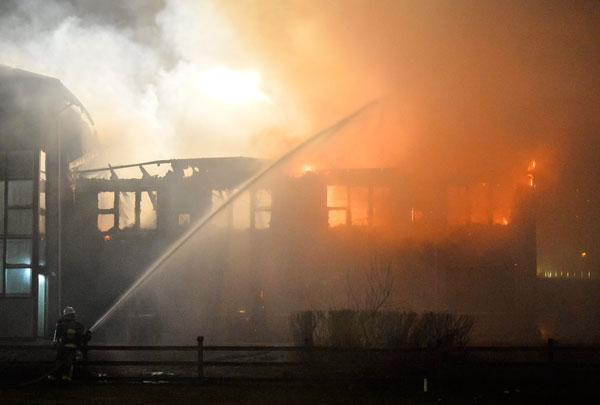 Arson suspected in Stockholm school fire