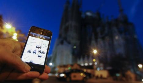 Uber files EU complaint over Spain ban