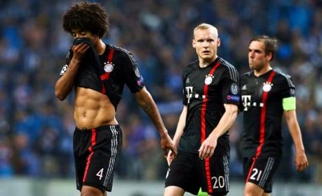 FC Bayern on brink of European exit