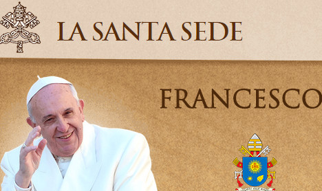 Hacker attacks Vatican site after 'genocide' claim