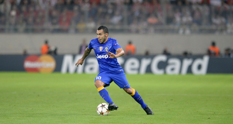 Juve's Tevez the 'danger man' for Monaco