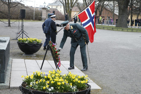 King Harald marks 75 years since Nazi attack