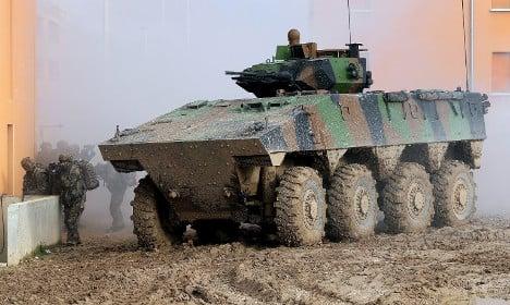 France named Europe's top military spender