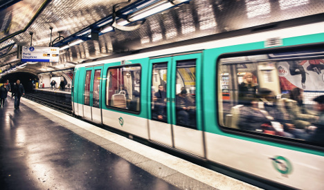 Sexual harassment rife on Paris trains