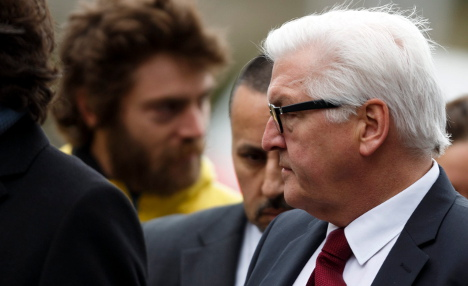 Steinmeier cancels Baltics trip for Iran talks