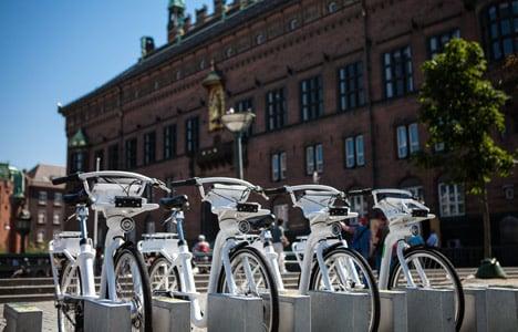 Copenhagen to pull plug on pricey city bikes