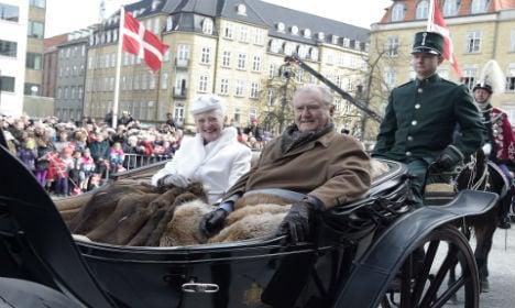 Queen of Denmark turns 75, party kicks off