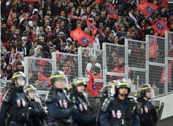 Marseille fans in custody after clashes