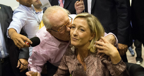 Le Pen furious over dad's 'gas chamber' comments