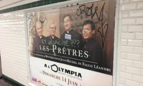 Paris Metro lifts ban on 'Christians advert'