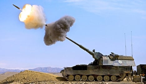 Lithuania pushes to buy German artillery