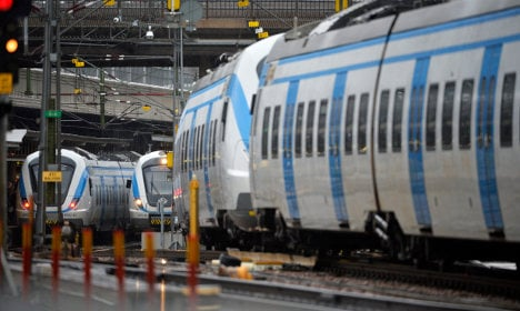 Travel chaos after power fault in Swedish capital