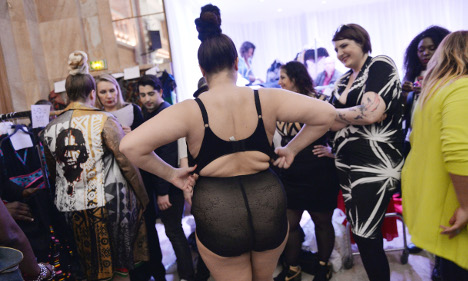 Paris fashion show takes on ultra-thin French ideal