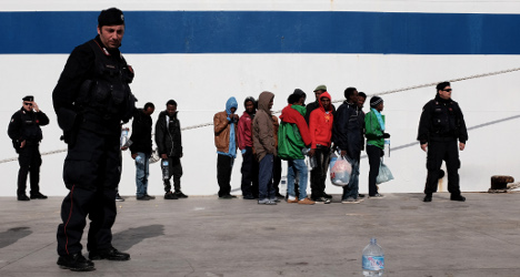 Row over migrant beds as boat arrivals intensify