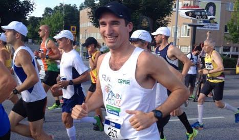 British man set for ten marathon Italy challenge