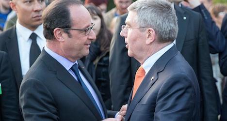 IOC chief welcomes Paris bid for 2024 Olympics