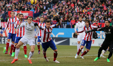 Atletico seek Real revenge in quarter final