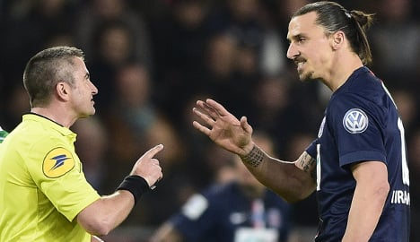 PSG blast treatment of banned Ibrahimovic