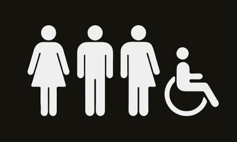 Swedish museum gets gender neutral toilet sign