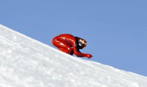 Italy's Origone sets new ski speed record
