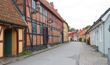 The Swedish Viking town using a Scottish sound