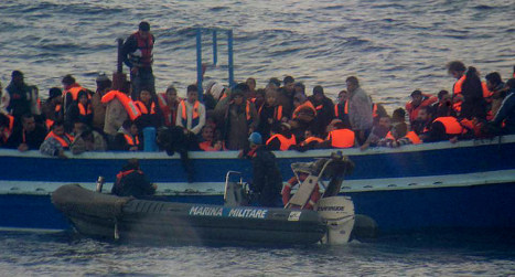 Migrants thrown into sea 'for being Christian'