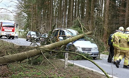 At least nine dead after hurricane strength winds