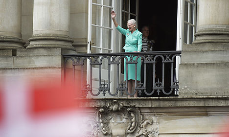 VIDEO: Danes celebrate Queen's birthday