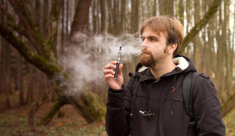 Vapour from e-cigarettes a health hazard: Study