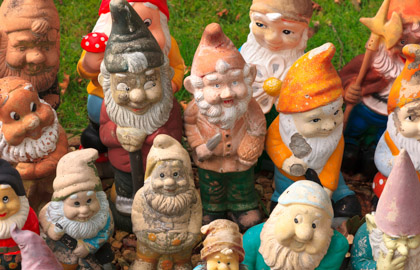 Tax hike brings gnome collectors out in protest