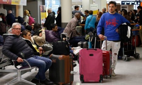 Passenger misery as French strike goes on