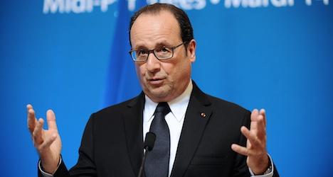 France's Hollande poised for historic Swiss visit