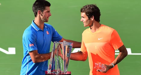 Djokovic and Federer set for clay court return