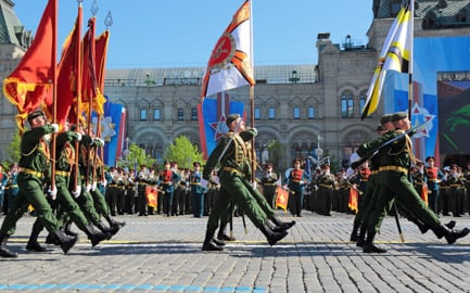 Fischer rejects Russian Victory Day parade